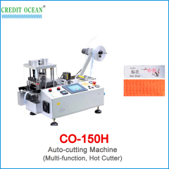 auto belt cutting machine with hot cutter