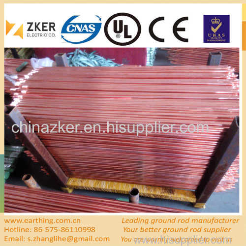 copper layer high quality earth rod