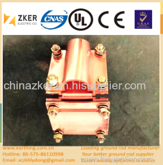 copper clad brass L type clamp