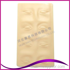 3D Permanent Makeup Practice Pad for Eyebrows and Eyeliners