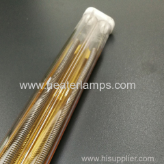 laminated glass quartz tube heater