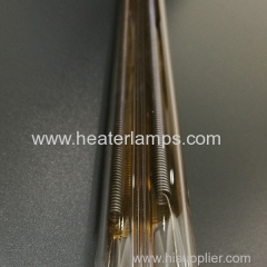 quartz ir heater for glass bending