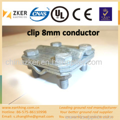 customized zinc-plated various clamp