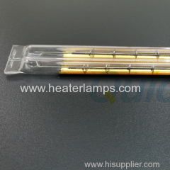 infrared radiant heating lamps with gold reflector