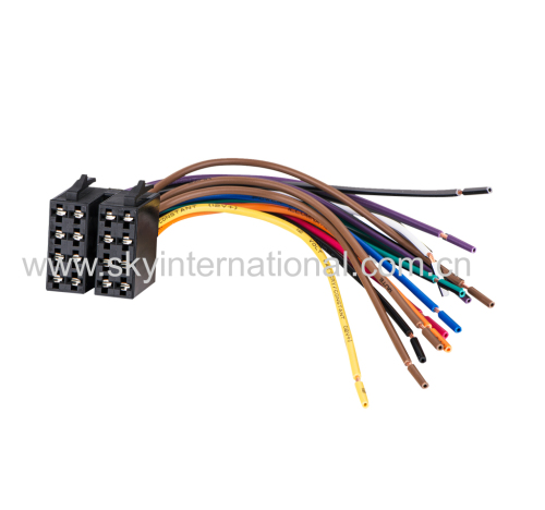 Car Radio Wiring Harness Wire Adapter For VolksWagen
