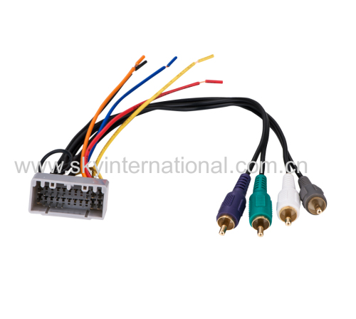 chrysler amp wiring harness