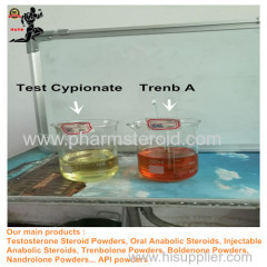 Semifinished Injection Steroids Trenbolone Acetate 100mg or 200mg Per ML