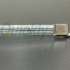 clear tube heater lamps with metal x end w lead