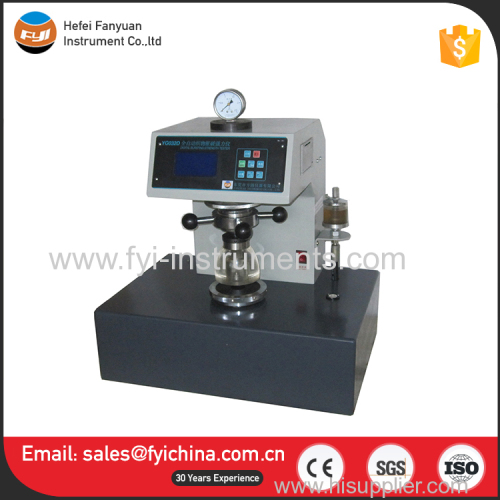 0-10Mpa astm d 3786 textile fabrics hydraulic bursting strength tester