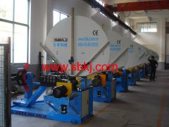 Spiral Round Tube Forming Machine