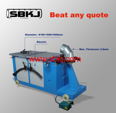 spiral elbow ducting machine