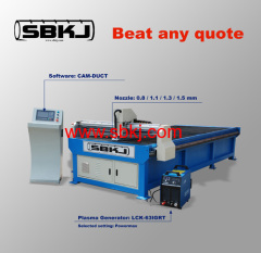 Ducting plasma cutting machine