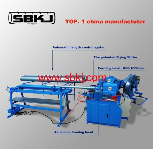 spiral steel pipe making machine