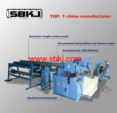 high quality spiral tubeformer machine