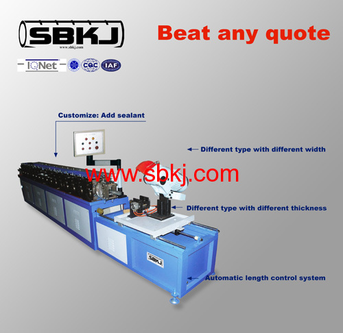 TDC duct flange forming machines