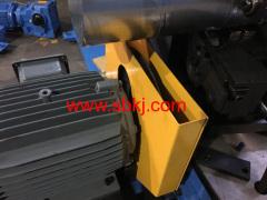 gas drainage pipe making machine