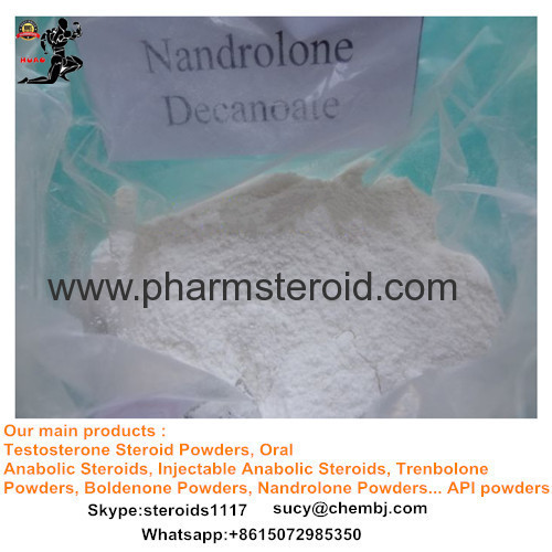 White crystalline powder Nandrolone Raw Nandrolone Cypionate for Muscle Building