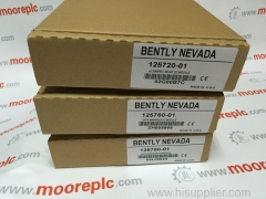 125768-01 BENTLY NEVADA professional service