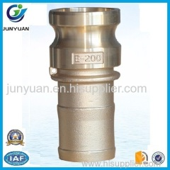 Brass Camlock Coupling part E