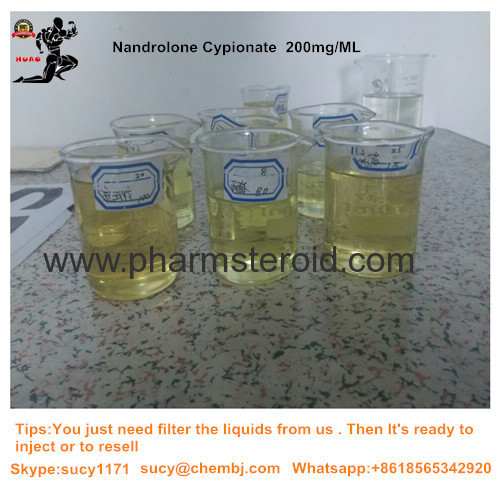 Semifinished Injection Nandrolone Cypionate 200mg Per ML