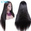 Brazilian Full Lace Human Hair Wigs Virgin Hair Silky Straight Full Lace Wig Black Women Full Lace Human Hair Wigs 13