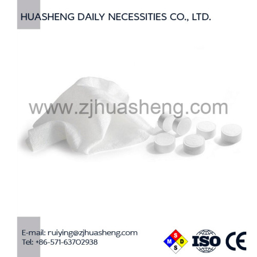 Compressed Cleaning Tissue Aqua Tissue