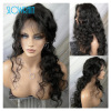 Virgin Brazilian Body Wave Full Lace Wig For Fashion Women Human Hair Lace Front Wig With Baby Hair Perimeter 130Density