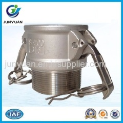 STAINLESS STEEL CAMLOCK COUPLING TYPE B