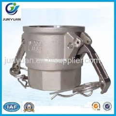 STAINLESS STEEL CAMLOCK COUPLING TYPE D