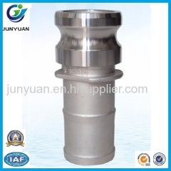 STAINLESS STEEL CAMLOCK COUPLING TYPE E