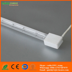 white reflector quartz ir heater for PET blowing machine