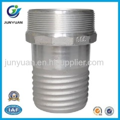 Alum Scroll Tail Coupling Male