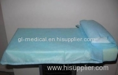 Medical consumable non-woven items incontinence bed pads
