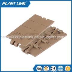 PL 820 single hinge straight slat top chain