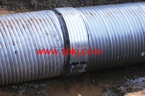 Helical Corrugated Steel Pipe Making Machine