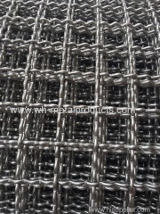 Pre-Crimp weaving Square opening metal Mesh