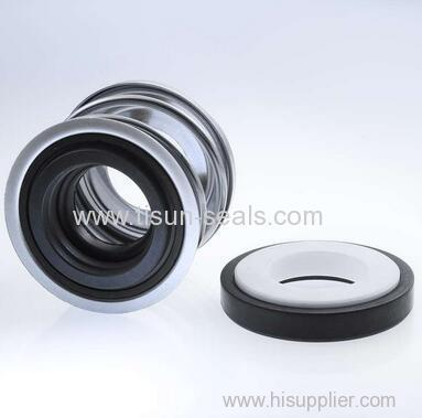 Unbalanced rubber bellow mechanical seals