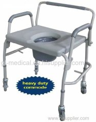 Medical hospital equipment commode toilet