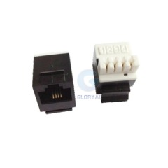 Mini cat 3 RJ11 keystone jack