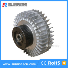 High speed hollow shaft magnetic powder clutch for printing machine