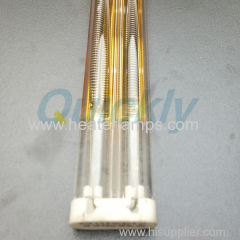 NiCr heating element quartz heater for reflow oven