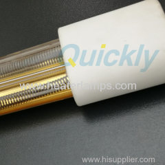 gold infrared lamps for glass screen printing