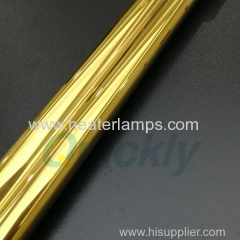gold coating quarz heater