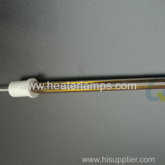 single tube quartz heater for water based ink drying