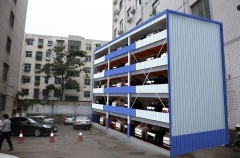 PSH puzzle 4 layer steel structure smart parking equipment