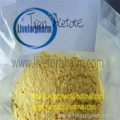 China trenbolone acetate/ Anabolic steroid powder/Tren A 99% purity/Lean muscle hormone/Cas 10161-34-9