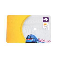 PET 9662 UHF RFID Card