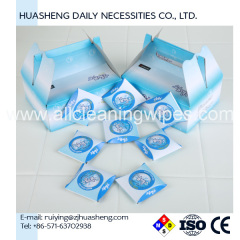 custom compressed tablet tissue napkin