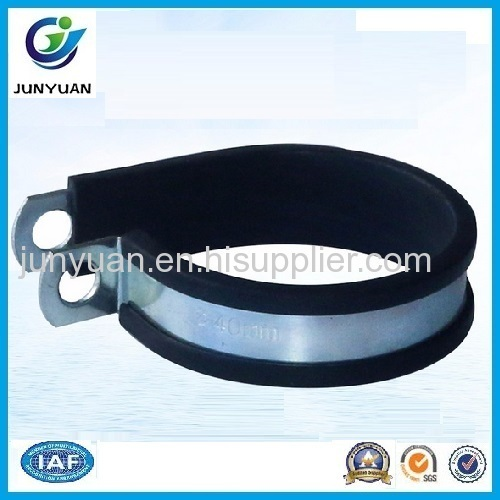 Stainless Steel Automobile Rubber Lined Clamp