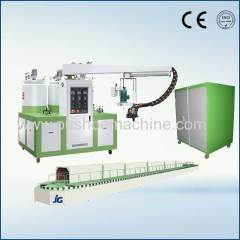 Polyurethane machine for sandal